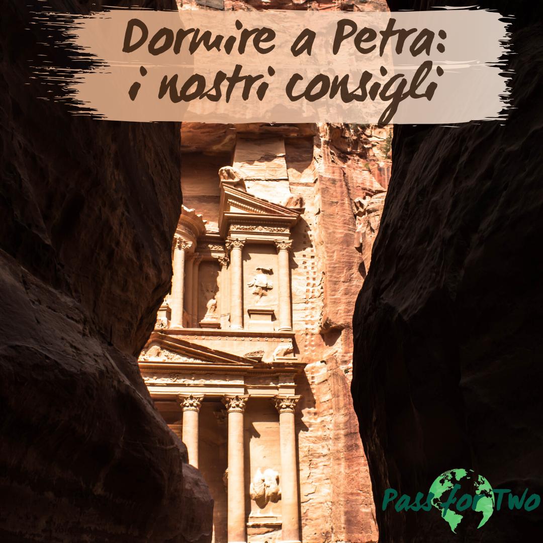 Dormire a Petra