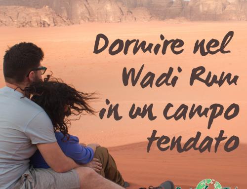 Dormire nel Wadi Rum in un campo tendato beduino
