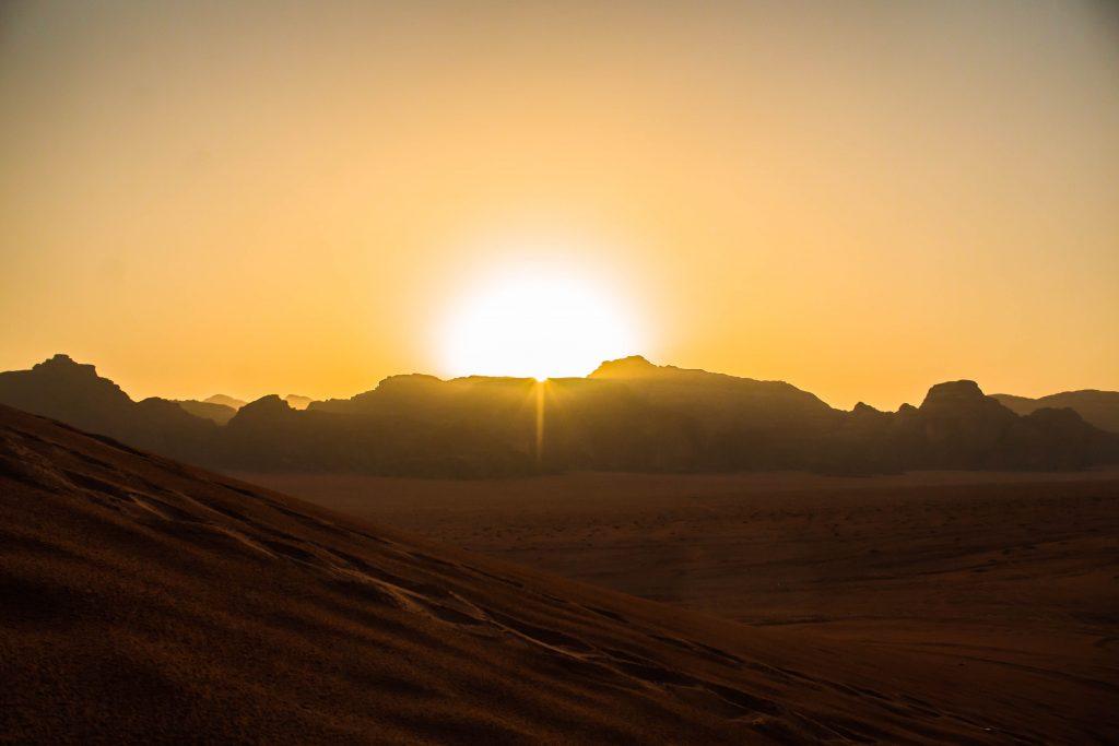Wadi Rum alba