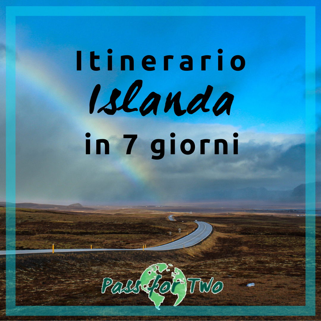 Itinerario Islanda in 7 giorni