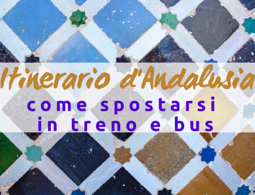 Itinerario Andalusia: come spostarsi in treno e bus