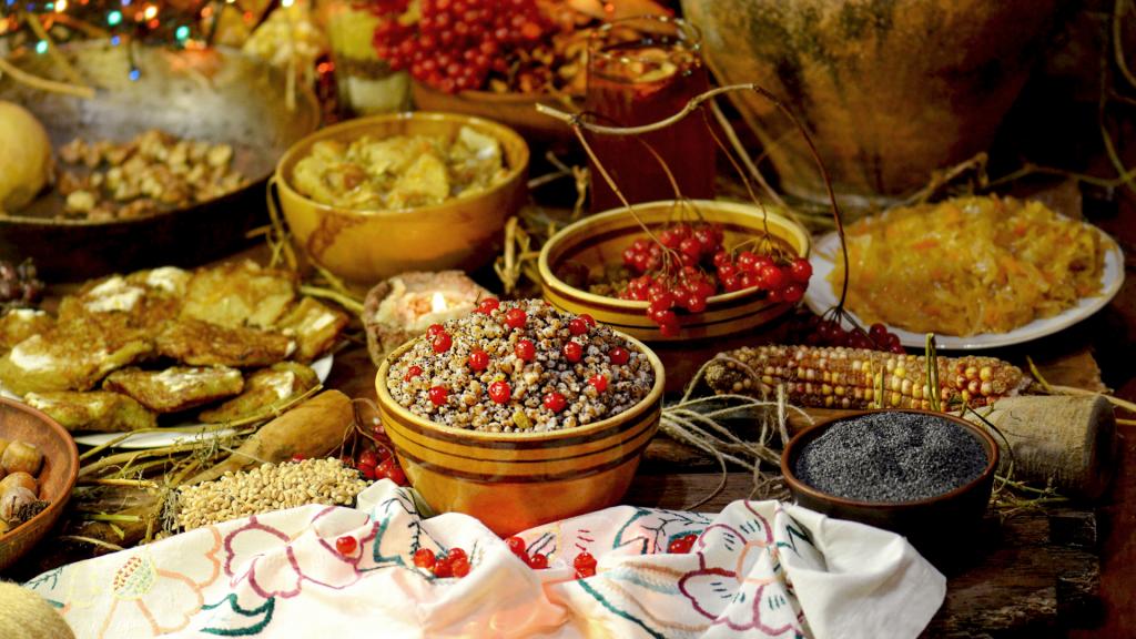 piatti di Natale Ucraina