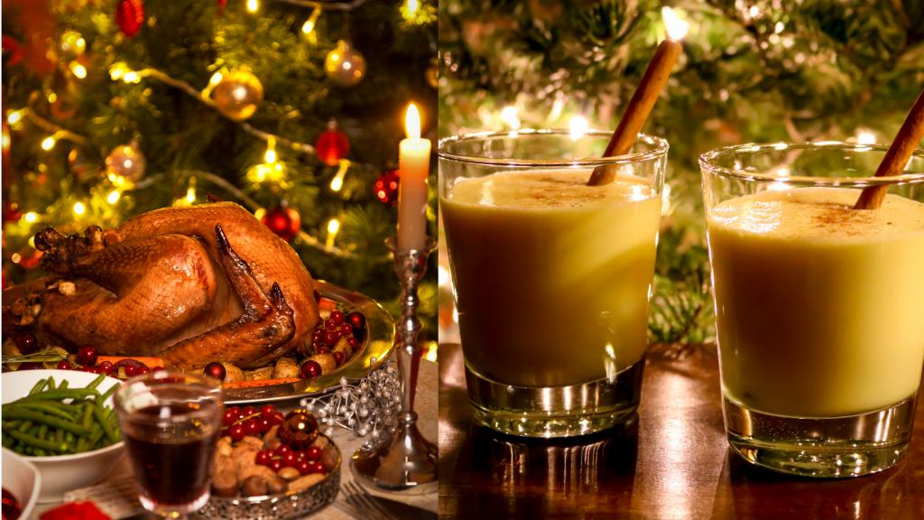 piatti di Natale USA